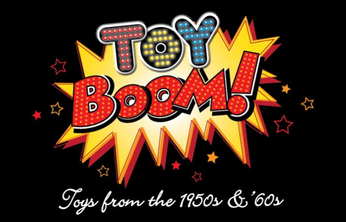 Toy Boom at the NC Museum of History Graphic
